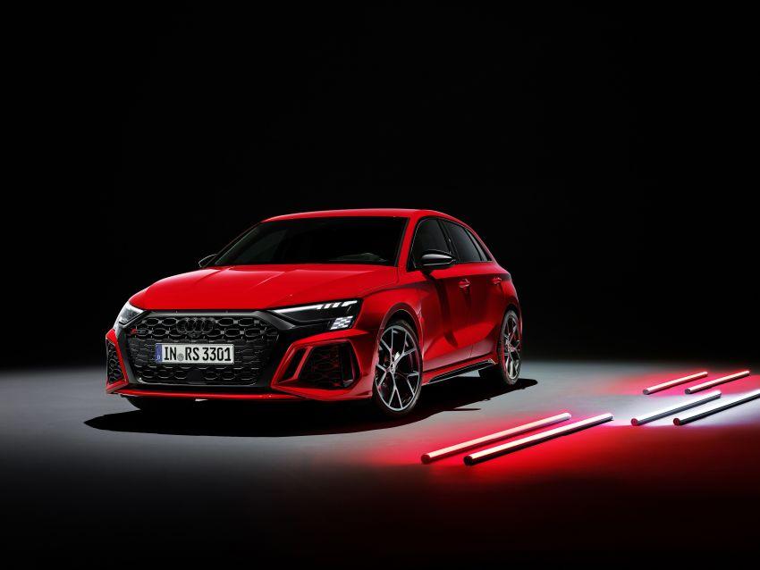 2022 Audi RS3 Sportback and RS3 Sedan debut – 400 PS/500 Nm 2.5 litre TFSI, Torque Splitter rear axle Image #1320870