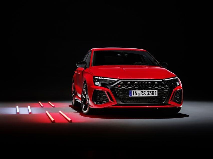 2022 Audi RS3 Sportback and RS3 Sedan debut – 400 PS/500 Nm 2.5 litre TFSI, Torque Splitter rear axle Image #1320873