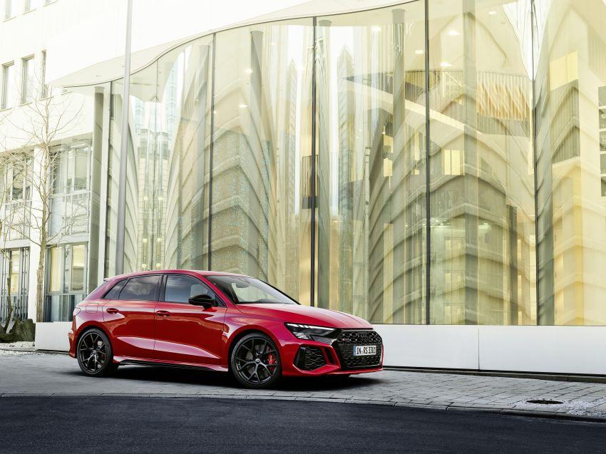 2022 Audi RS3 Sportback and RS3 Sedan debut – 400 PS/500 Nm 2.5 litre TFSI, Torque Splitter rear axle Image #1320780