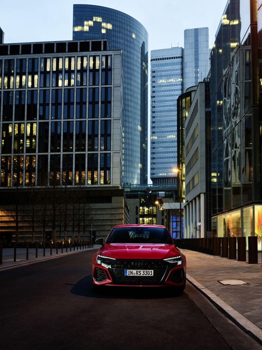 2022 Audi RS3 Sportback and RS3 Sedan debut – 400 PS/500 Nm 2.5 litre TFSI, Torque Splitter rear axle Image #1320781