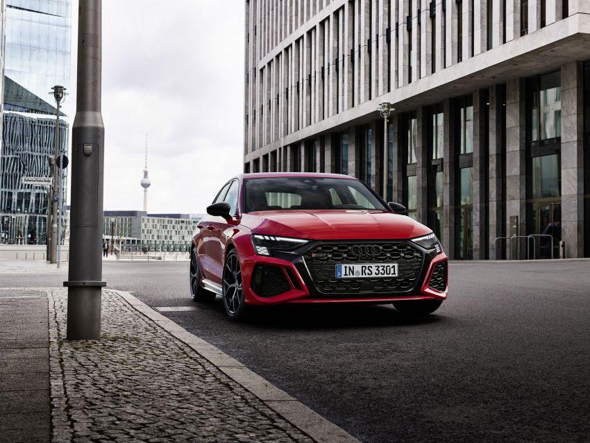 2022 Audi RS3 Sportback and RS3 Sedan debut – 400 PS/500 Nm 2.5 litre TFSI, Torque Splitter rear axle Image #1320782