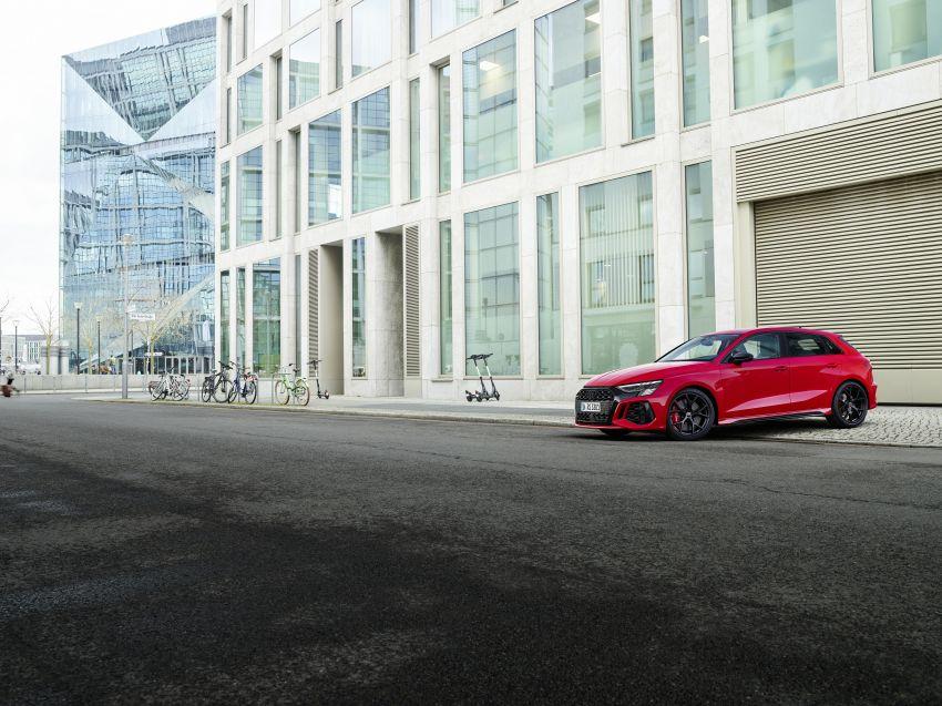 2022 Audi RS3 Sportback and RS3 Sedan debut – 400 PS/500 Nm 2.5 litre TFSI, Torque Splitter rear axle Image #1320784
