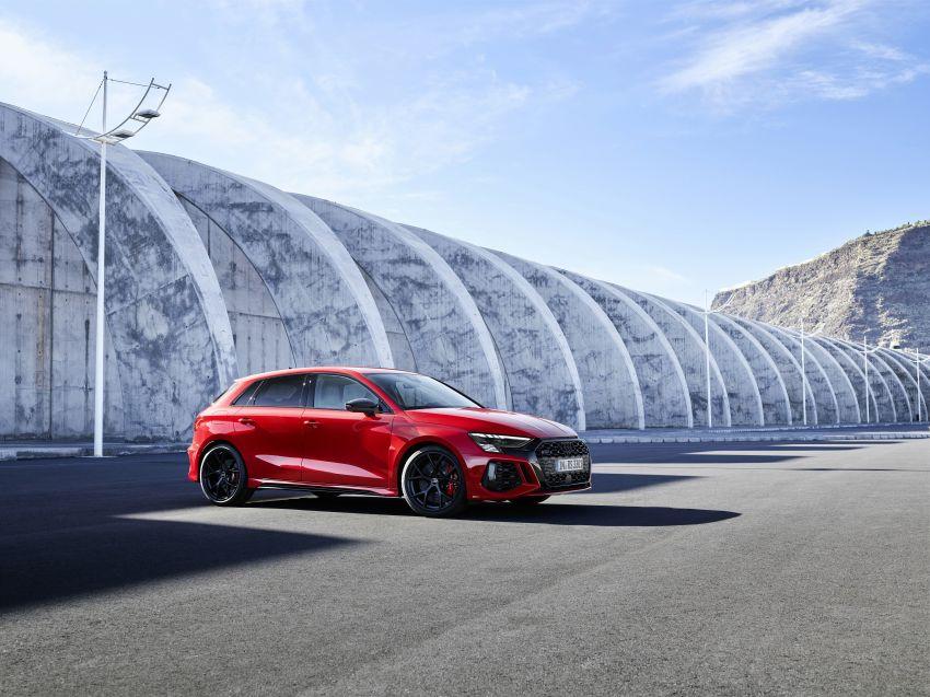 2022 Audi RS3 Sportback and RS3 Sedan debut – 400 PS/500 Nm 2.5 litre TFSI, Torque Splitter rear axle Image #1320786