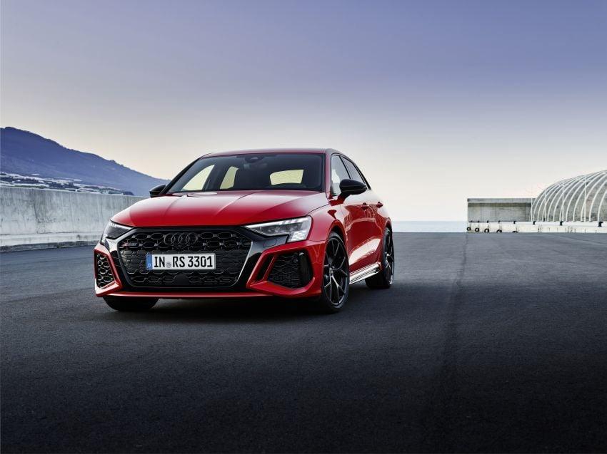 2022 Audi RS3 Sportback and RS3 Sedan debut – 400 PS/500 Nm 2.5 litre TFSI, Torque Splitter rear axle Image #1320789