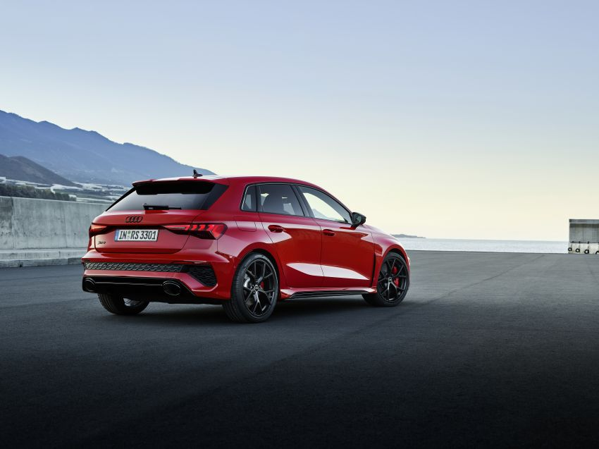 2022 Audi RS3 Sportback and RS3 Sedan debut – 400 PS/500 Nm 2.5 litre TFSI, Torque Splitter rear axle Image #1320790