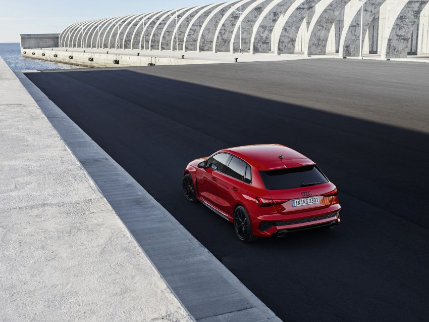 2022 Audi RS3 Sportback and RS3 Sedan debut – 400 PS/500 Nm 2.5 litre TFSI, Torque Splitter rear axle Image #1320796