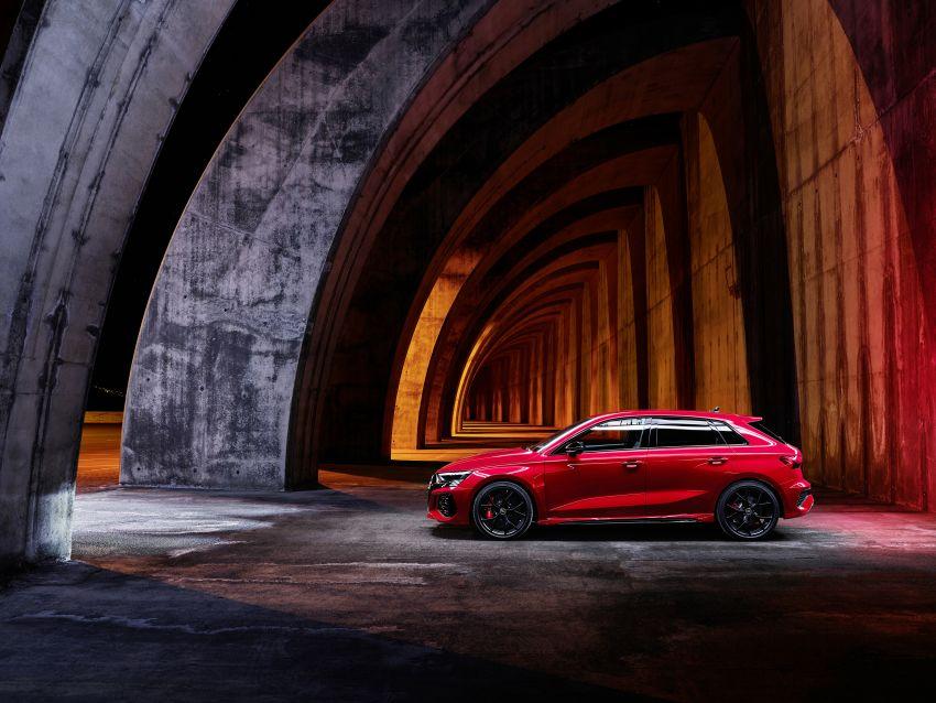 2022 Audi RS3 Sportback and RS3 Sedan debut – 400 PS/500 Nm 2.5 litre TFSI, Torque Splitter rear axle Image #1320797