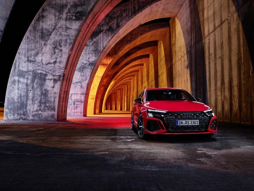 2022 Audi RS3 Sportback and RS3 Sedan debut – 400 PS/500 Nm 2.5 litre TFSI, Torque Splitter rear axle Image #1320798