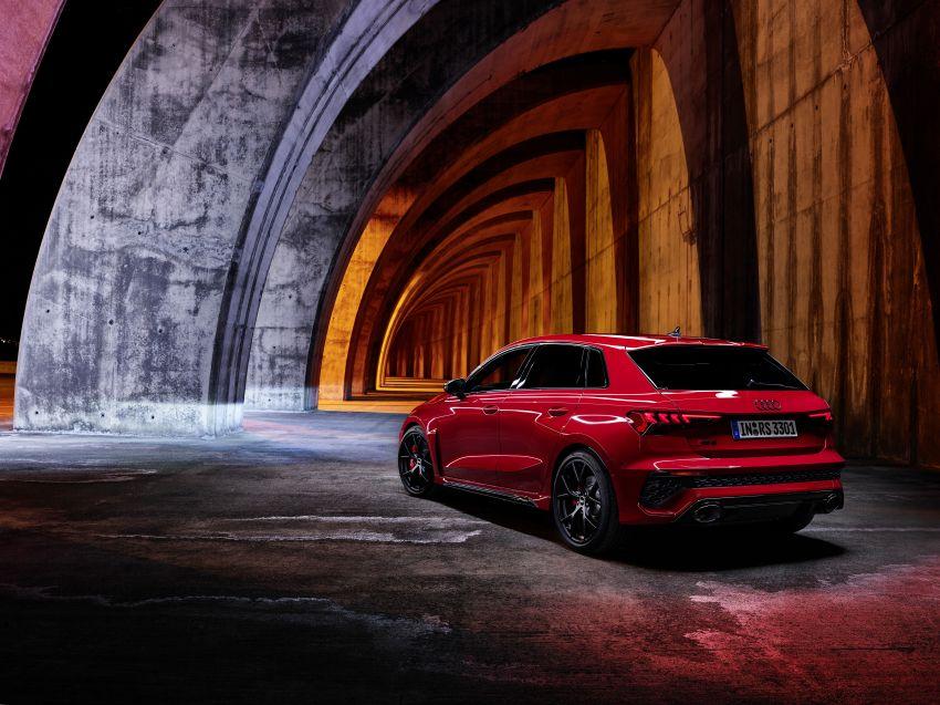 2022 Audi RS3 Sportback and RS3 Sedan debut – 400 PS/500 Nm 2.5 litre TFSI, Torque Splitter rear axle Image #1320799