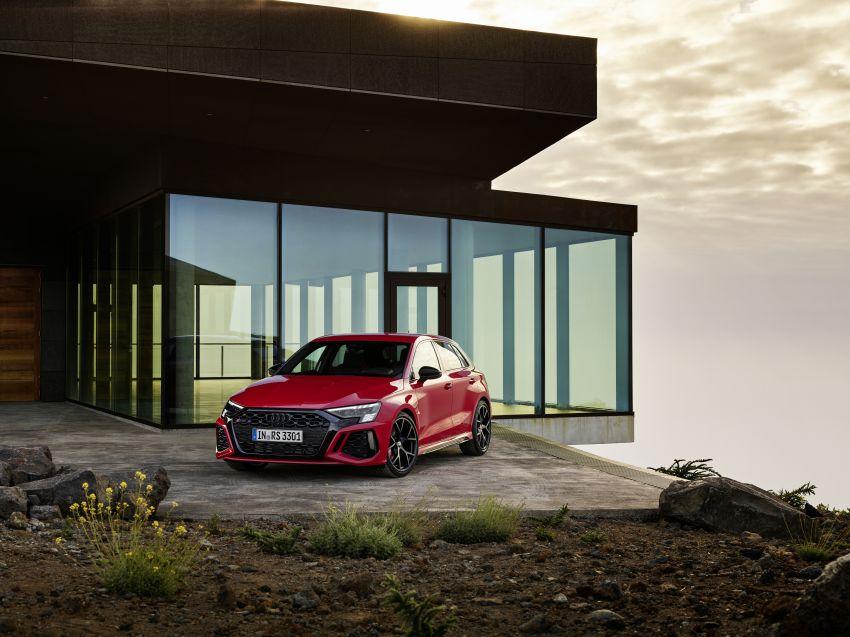 2022 Audi RS3 Sportback and RS3 Sedan debut – 400 PS/500 Nm 2.5 litre TFSI, Torque Splitter rear axle Image #1320801