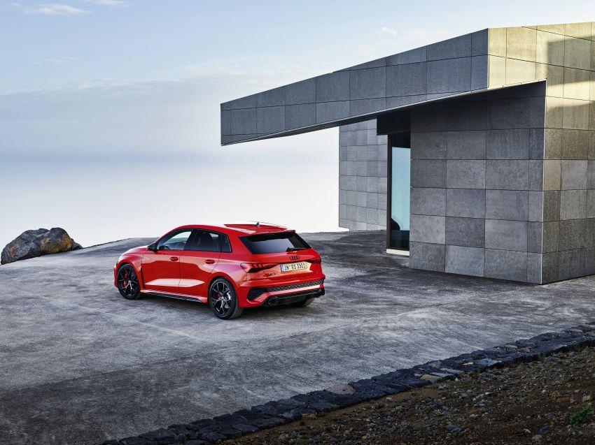 2022 Audi RS3 Sportback and RS3 Sedan debut – 400 PS/500 Nm 2.5 litre TFSI, Torque Splitter rear axle Image #1320806