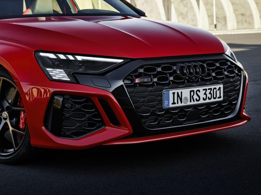 2022 Audi RS3 Sportback and RS3 Sedan debut – 400 PS/500 Nm 2.5 litre TFSI, Torque Splitter rear axle Image #1320808