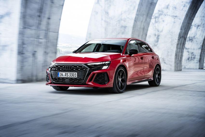 2022 Audi RS3 Sportback and RS3 Sedan debut – 400 PS/500 Nm 2.5 litre TFSI, Torque Splitter rear axle Image #1320810