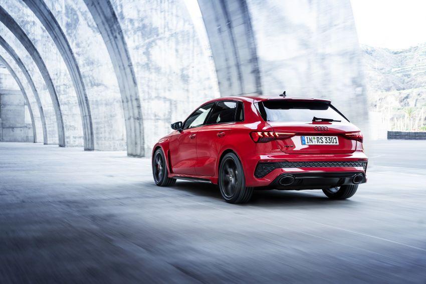 2022 Audi RS3 Sportback and RS3 Sedan debut – 400 PS/500 Nm 2.5 litre TFSI, Torque Splitter rear axle Image #1320812