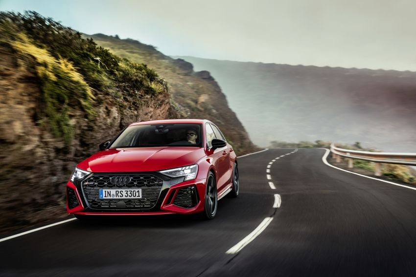 2022 Audi RS3 Sportback and RS3 Sedan debut – 400 PS/500 Nm 2.5 litre TFSI, Torque Splitter rear axle Image #1320813