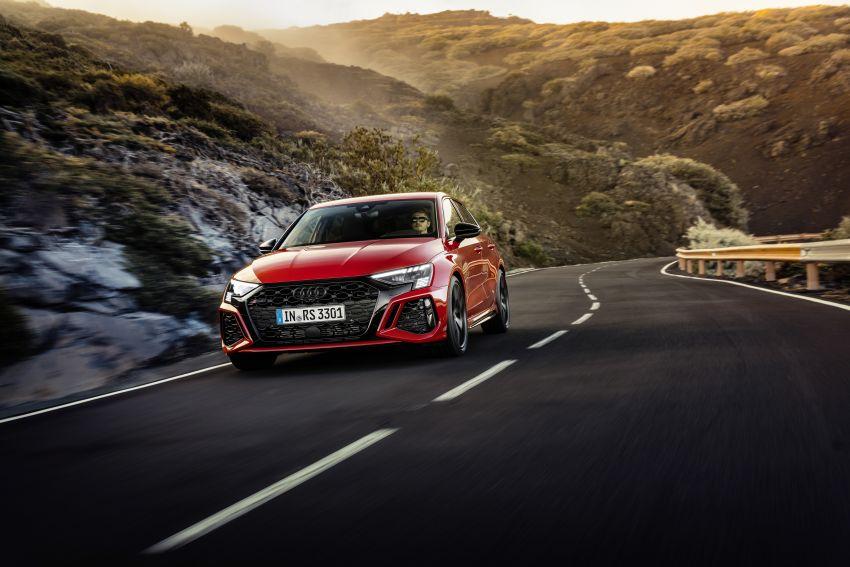 2022 Audi RS3 Sportback and RS3 Sedan debut – 400 PS/500 Nm 2.5 litre TFSI, Torque Splitter rear axle Image #1320815