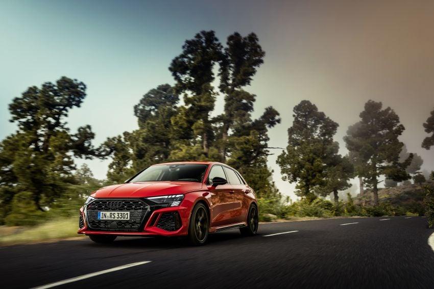 2022 Audi RS3 Sportback and RS3 Sedan debut – 400 PS/500 Nm 2.5 litre TFSI, Torque Splitter rear axle Image #1320816
