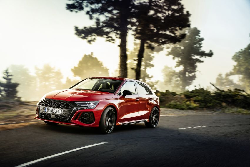 2022 Audi RS3 Sportback and RS3 Sedan debut – 400 PS/500 Nm 2.5 litre TFSI, Torque Splitter rear axle Image #1320817