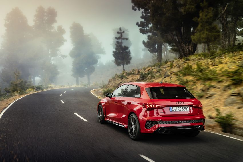 2022 Audi RS3 Sportback and RS3 Sedan debut – 400 PS/500 Nm 2.5 litre TFSI, Torque Splitter rear axle Image #1320819