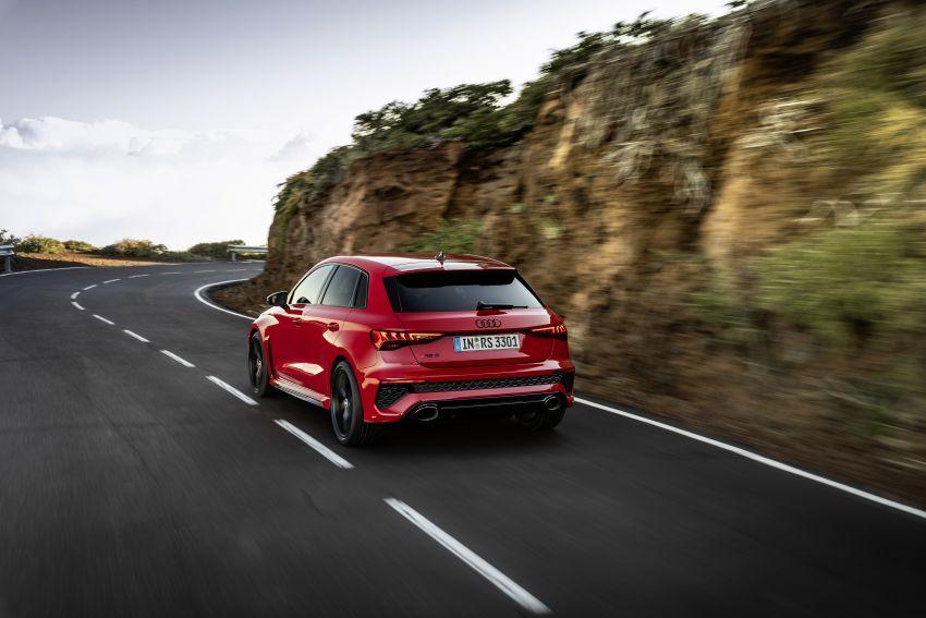 2022 Audi RS3 Sportback and RS3 Sedan debut – 400 PS/500 Nm 2.5 litre TFSI, Torque Splitter rear axle Image #1320821