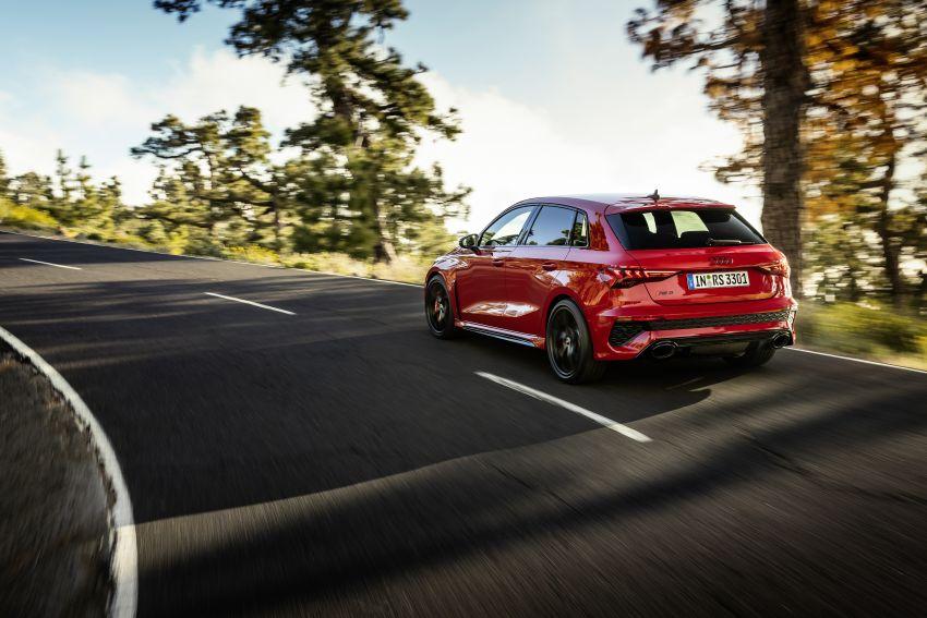 2022 Audi RS3 Sportback and RS3 Sedan debut – 400 PS/500 Nm 2.5 litre TFSI, Torque Splitter rear axle Image #1320822