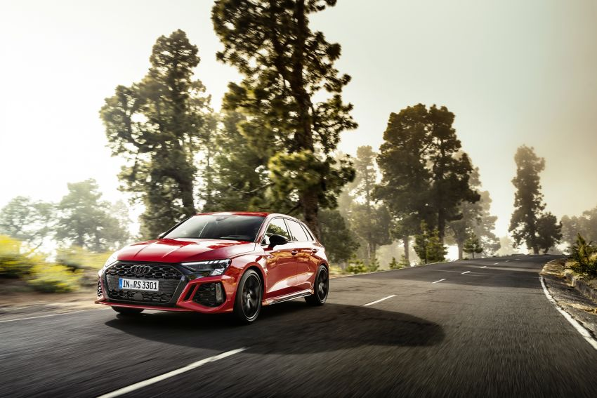 2022 Audi RS3 Sportback and RS3 Sedan debut – 400 PS/500 Nm 2.5 litre TFSI, Torque Splitter rear axle Image #1320823
