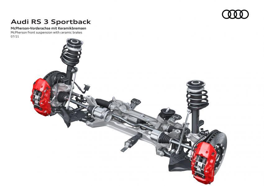2022 Audi RS3 Sportback and RS3 Sedan debut – 400 PS/500 Nm 2.5 litre TFSI, Torque Splitter rear axle Image #1321125