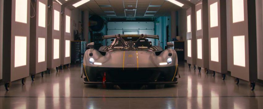 Dallara EXP track car debuts – 492 hp/700 Nm, 890 kg, 1,250 kg of downforce; cornering forces up to 2.7 <em>g</em> Image #1315008