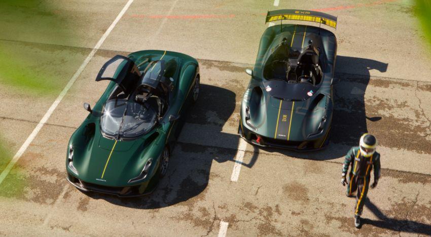 Dallara EXP track car debuts – 492 hp/700 Nm, 890 kg, 1,250 kg of downforce; cornering forces up to 2.7 <em>g</em> Image #1315009