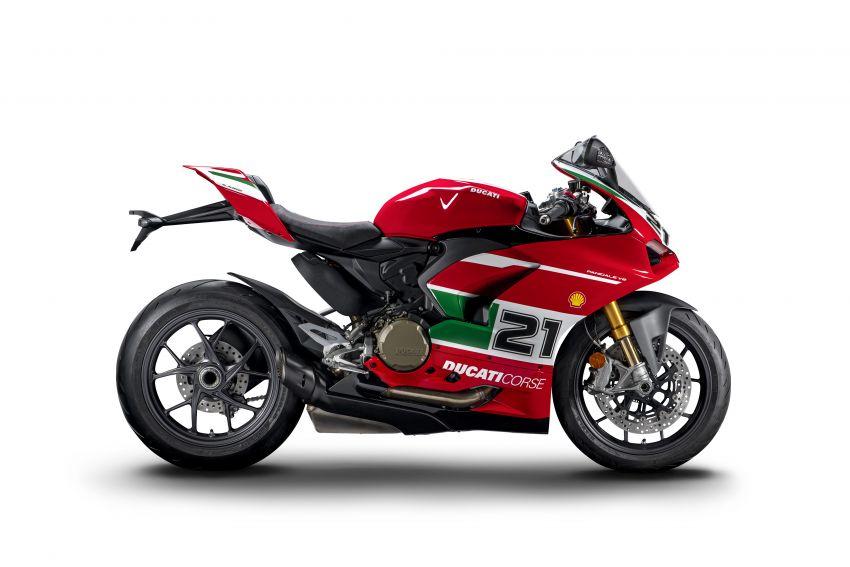 2021 Ducati Panigale V2 Bayliss celebrates 20th anniversary of Troy Bayliss' WSBK championship Image #1322325