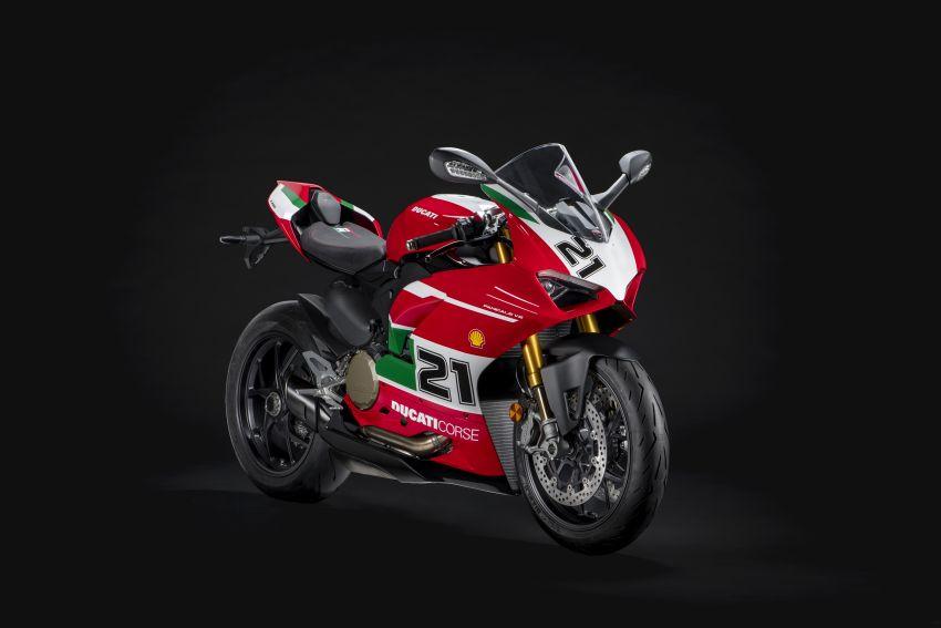 2021 Ducati Panigale V2 Bayliss celebrates 20th anniversary of Troy Bayliss' WSBK championship Image #1322326