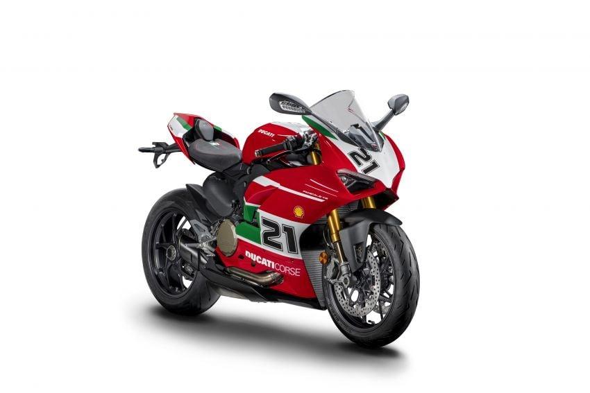 2021 Ducati Panigale V2 Bayliss celebrates 20th anniversary of Troy Bayliss' WSBK championship Image #1322327