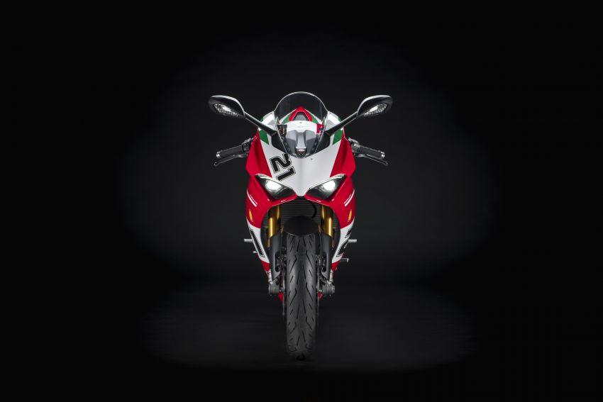 2021 Ducati Panigale V2 Bayliss celebrates 20th anniversary of Troy Bayliss' WSBK championship Image #1322331
