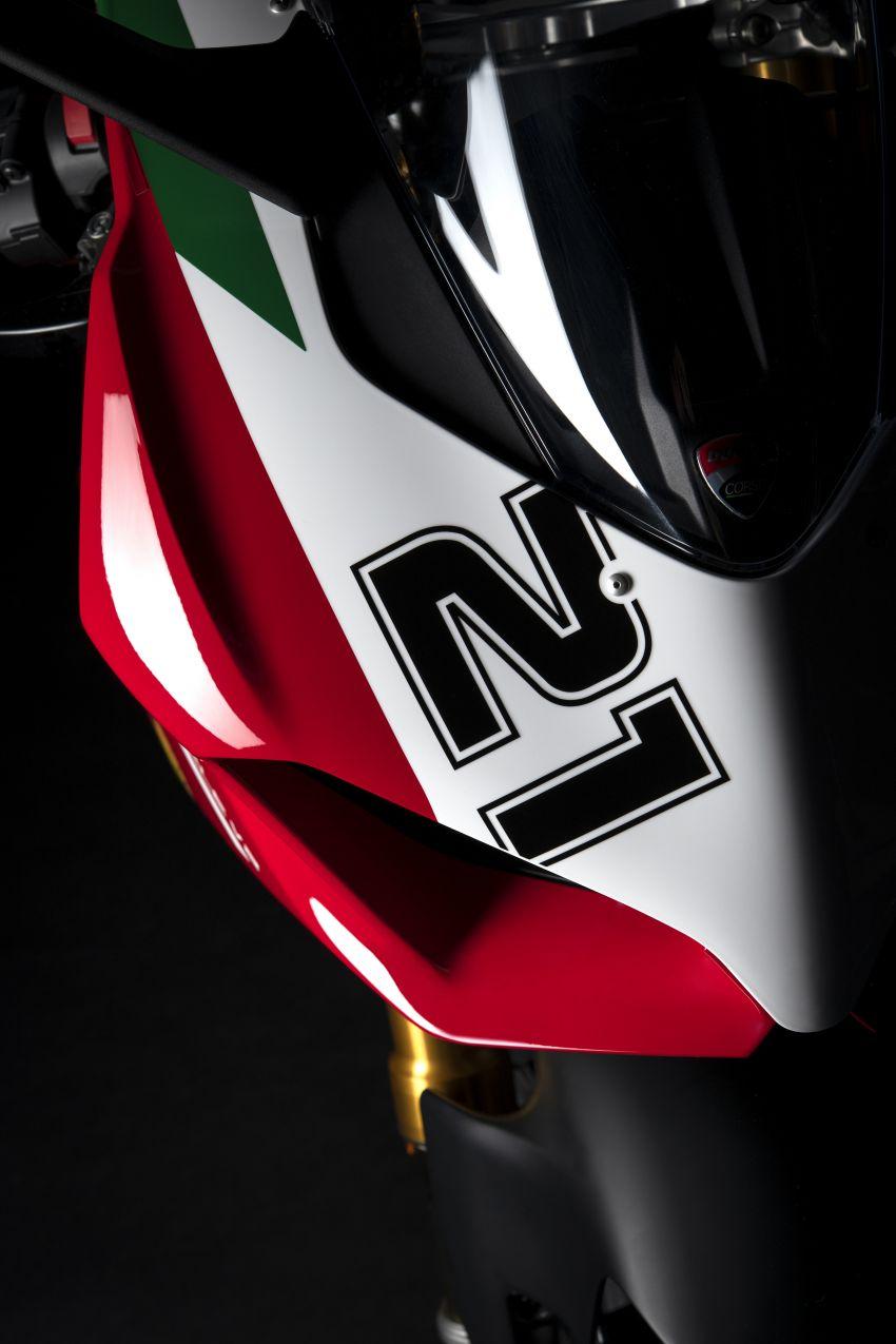 2021 Ducati Panigale V2 Bayliss celebrates 20th anniversary of Troy Bayliss' WSBK championship Image #1322333