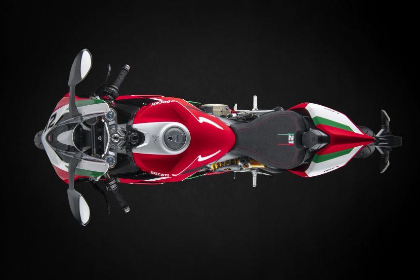 2021 Ducati Panigale V2 Bayliss celebrates 20th anniversary of Troy Bayliss' WSBK championship Image #1322323