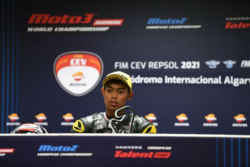 2021 FIM CEV: Adam Norrodin takes third for Malaysia Image #1315201