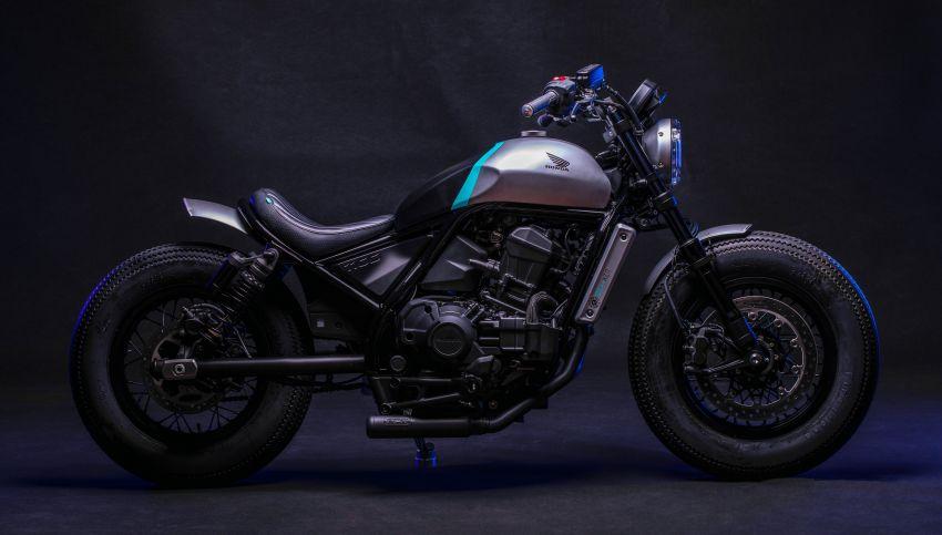 FCR Original transforms the Honda CMX1100 Rebel Image #1318211
