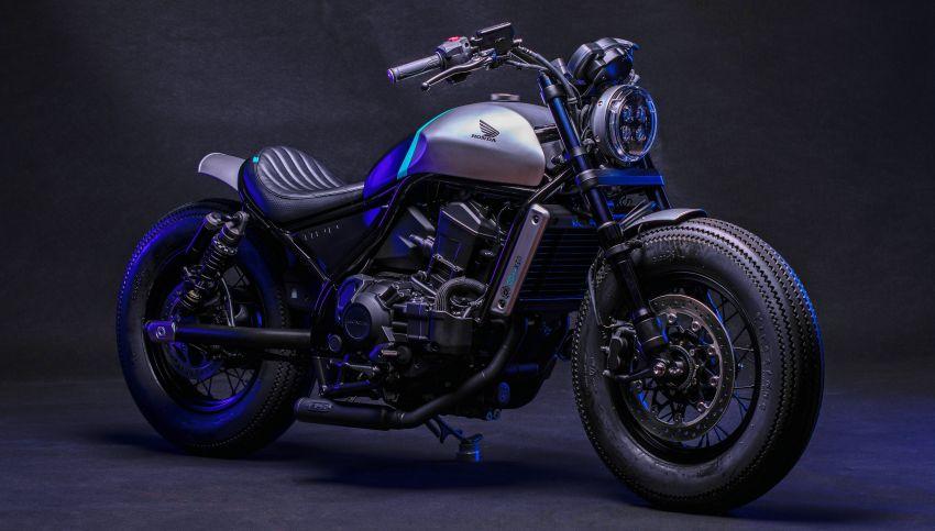 FCR Original transforms the Honda CMX1100 Rebel Image #1318212