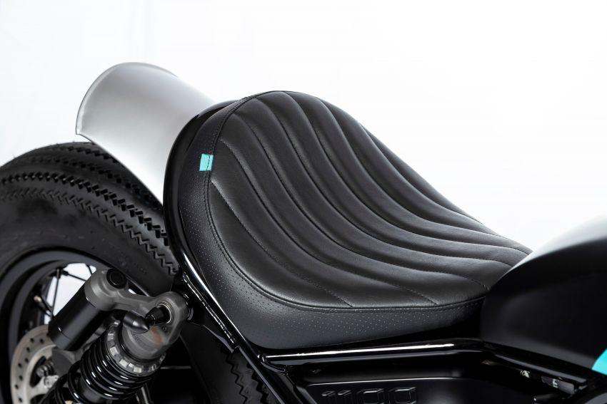 FCR Original transforms the Honda CMX1100 Rebel Image #1318200