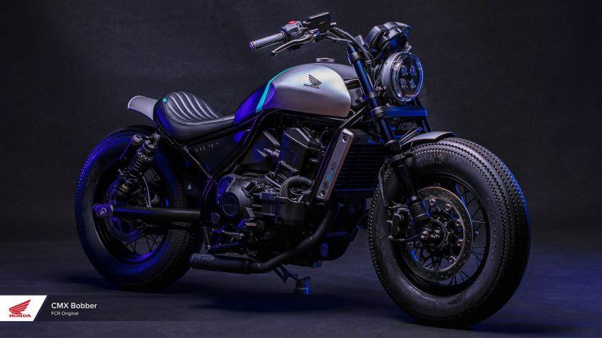 FCR Original transforms the Honda CMX1100 Rebel Image #1318219