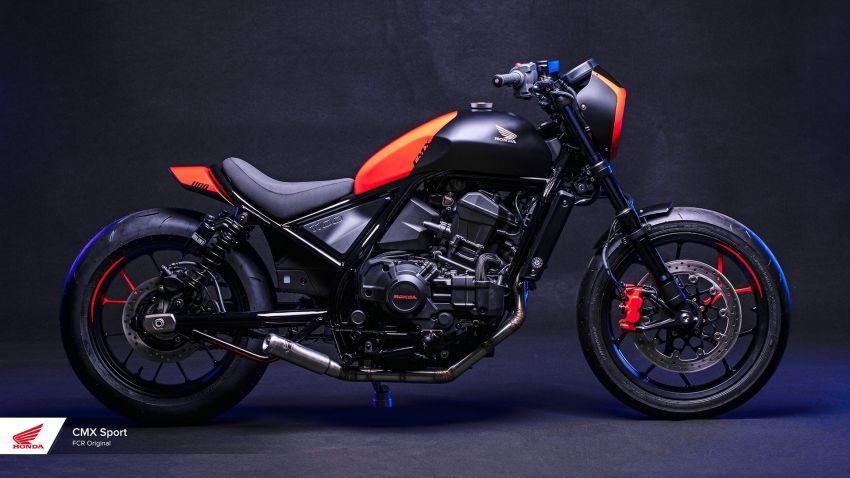 FCR Original transforms the Honda CMX1100 Rebel Image #1318139