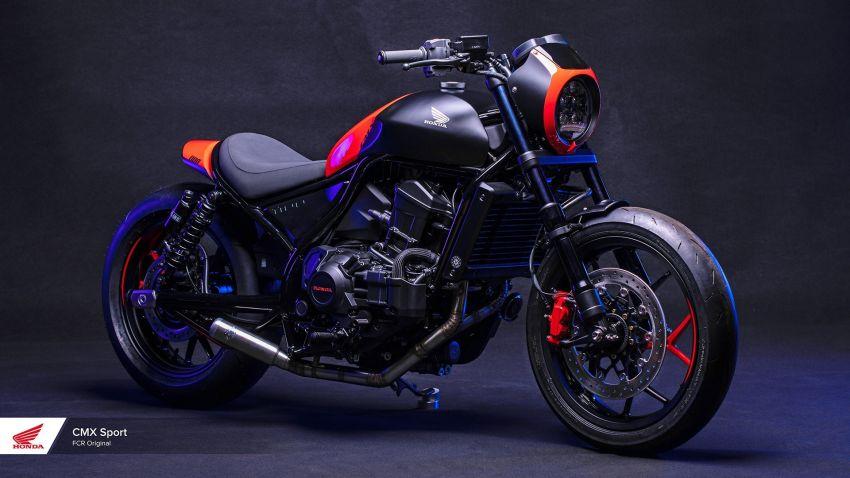 FCR Original transforms the Honda CMX1100 Rebel Image #1318140