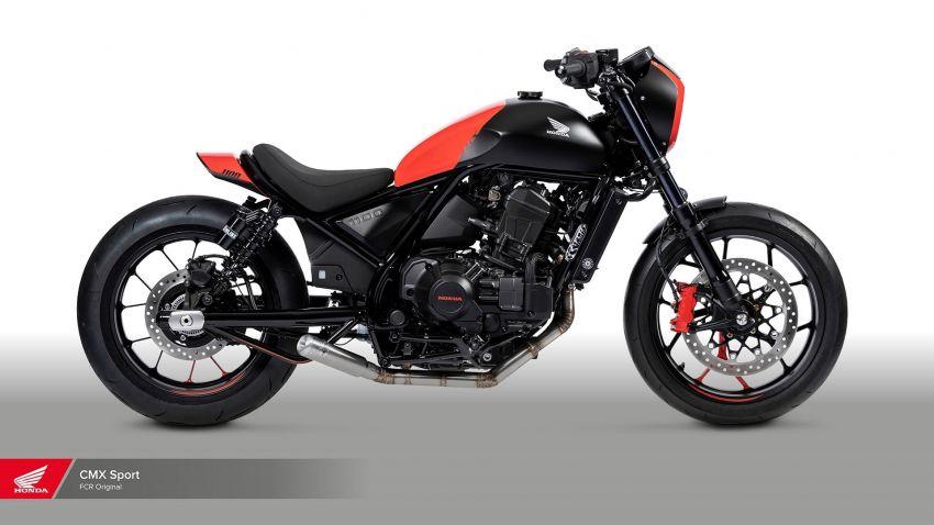 FCR Original transforms the Honda CMX1100 Rebel Image #1318141