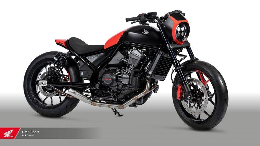 FCR Original transforms the Honda CMX1100 Rebel Image #1318142