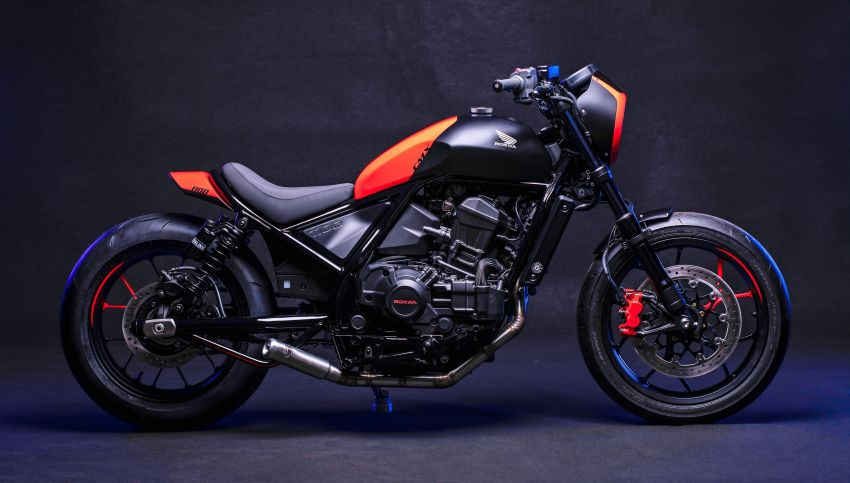 FCR Original transforms the Honda CMX1100 Rebel Image #1318143