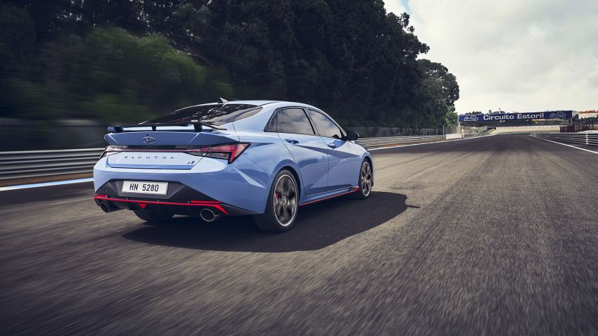 Hyundai Elantra N – 280 PS/392 Nm 2.0L turbo with manual or eight-speed DCT, 0-100 km/h in 5.3 seconds Image #1319101