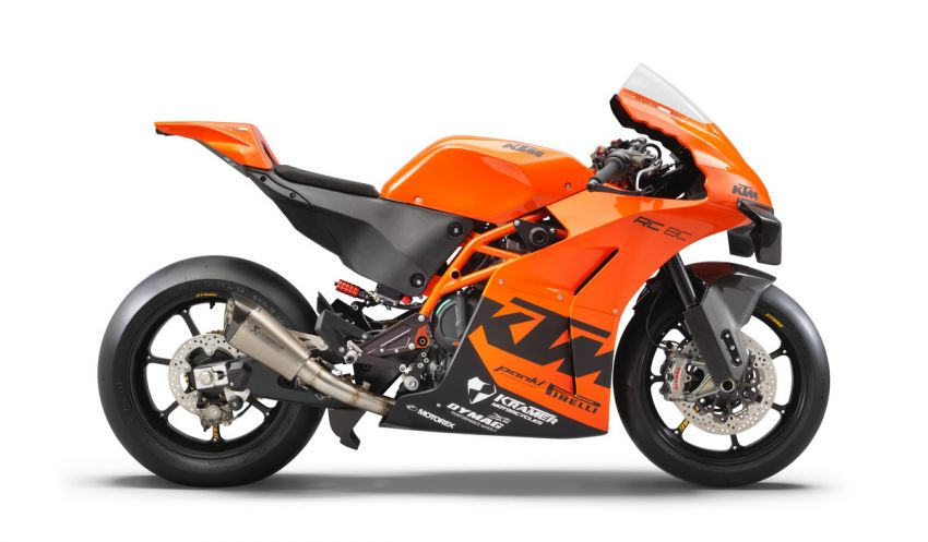 2021 KTM RC 8C limited – track only, 128 hp, 140 kg Image #1321257