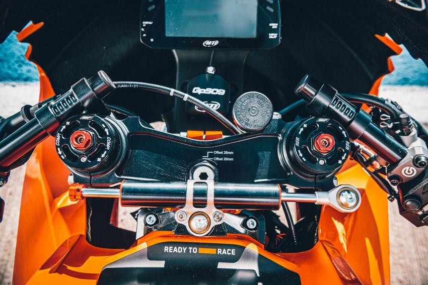 2021 KTM RC 8C limited – track only, 128 hp, 140 kg Image #1321267
