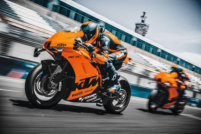 2021 KTM RC 8C limited – track only, 128 hp, 140 kg Image #1321269