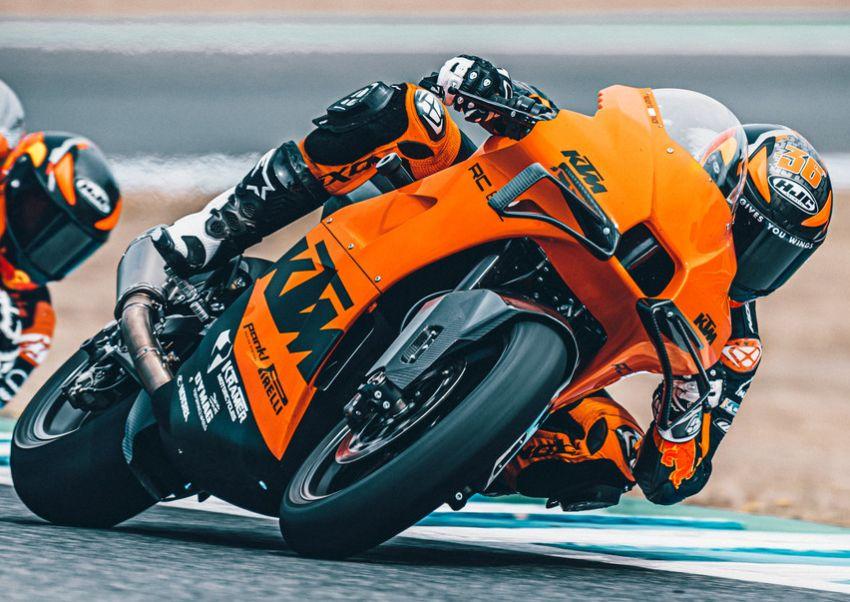 2021 KTM RC 8C limited – track only, 128 hp, 140 kg Image #1321270
